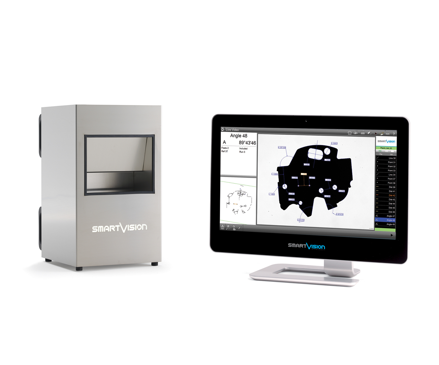 Smart_Projector: State-of-the-art Video Measuring Machine