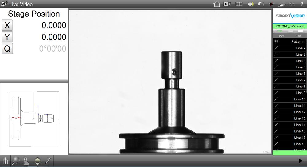 Software video mesuring machines