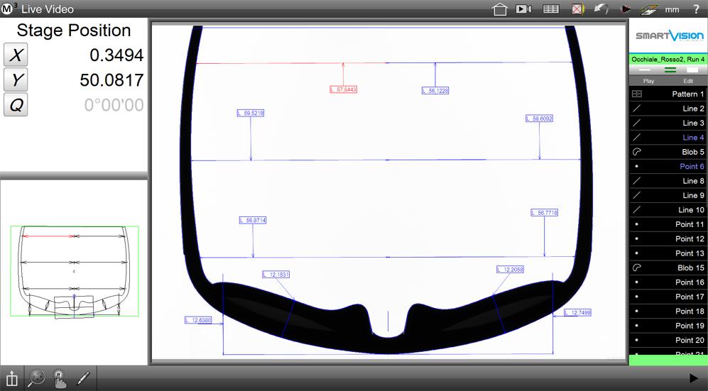 Quality Control for Sunglassens Frame