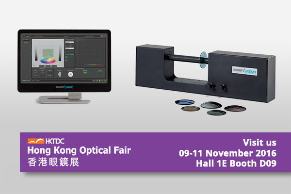 SmartVision @ Hong Kong Optical Fair 2016