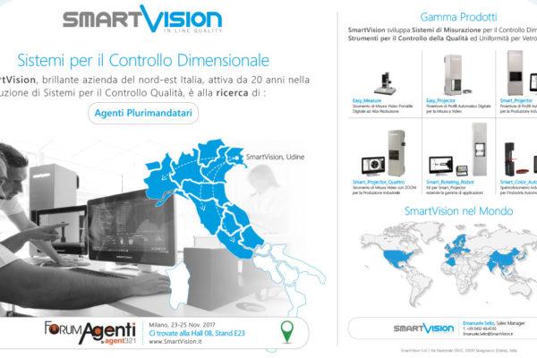 SmartVision ricerca Agenti Plurimandatari. Ti aspettiamo a ForumAgenti!