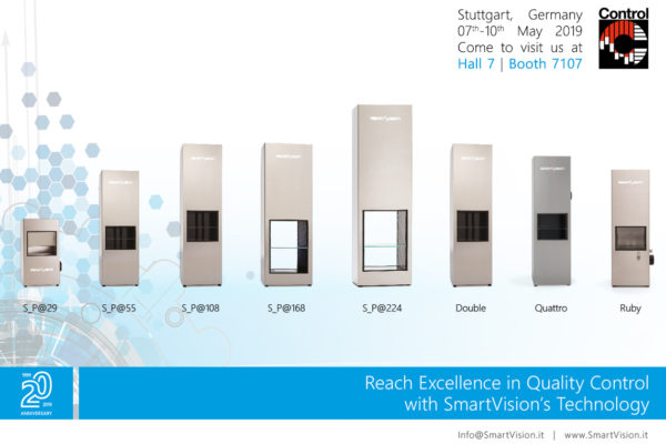 SmartVision at CONTROL 2019 Show in Stuttgart, Germany