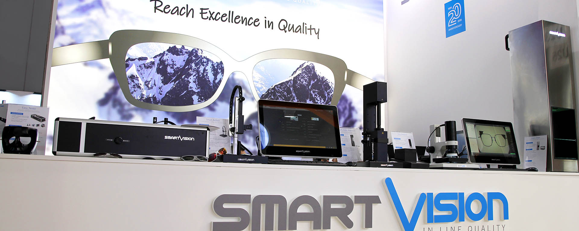 Reach the Excellence in Quality Control with SmartVision