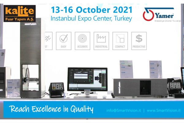 SmartVision Quality Control at Kalite show 2021 in Turkey